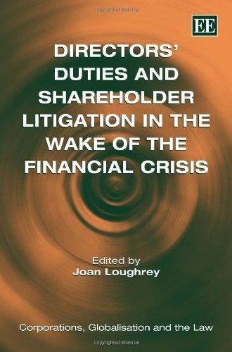 DirectorsDutiesAndShareholderLitigationinthWakeoftheFinancialCrisis
